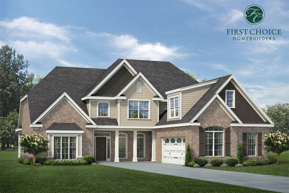 Belmont Floor Plan - Render | Stallings Ridge