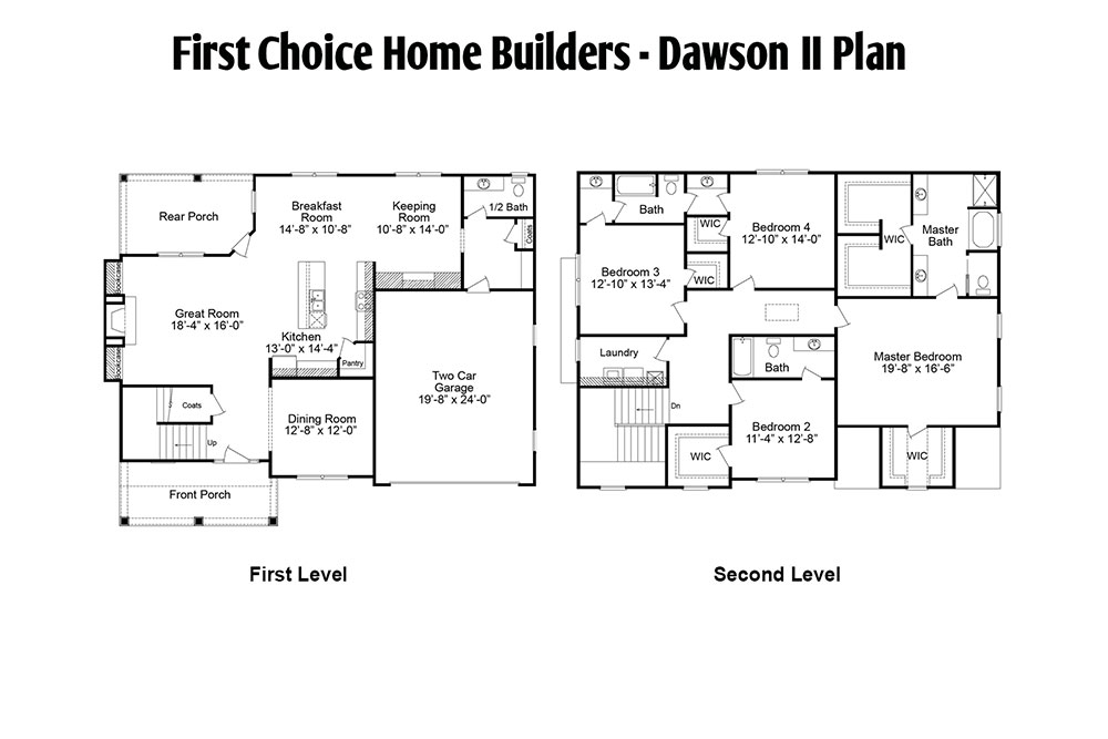 Dawson Floor Plan | Stallings Ridge