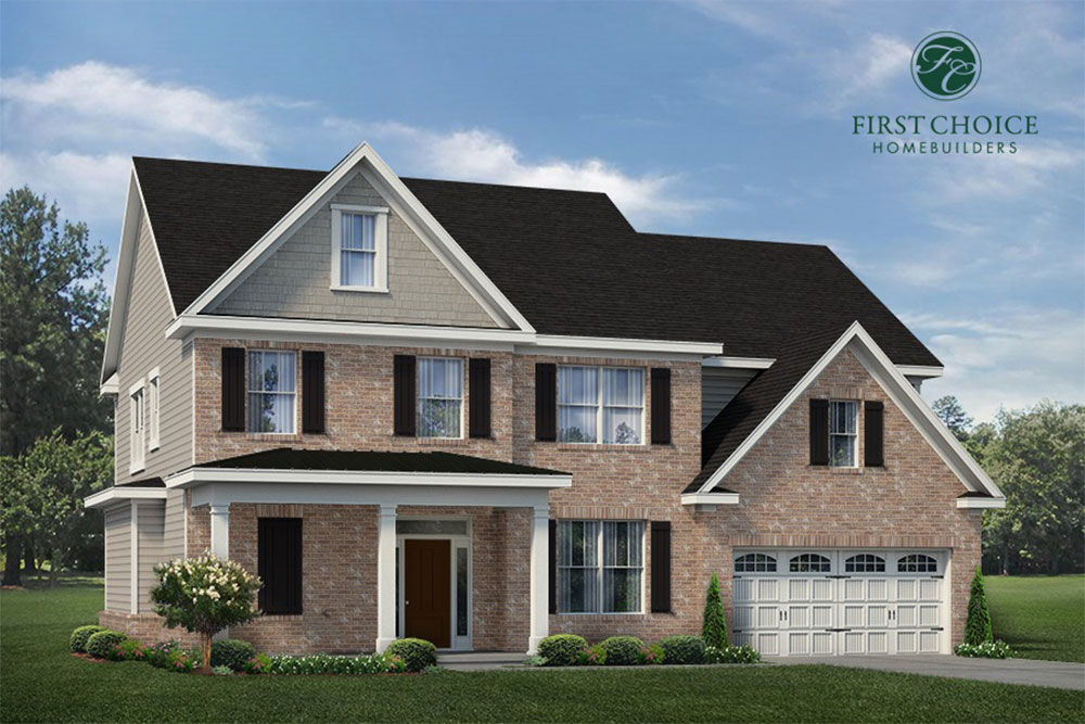 Dawson Floor Plan - Render | Stallings Ridge