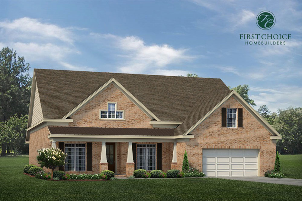 Stafford Floor Plan - Render | Stallings Ridge