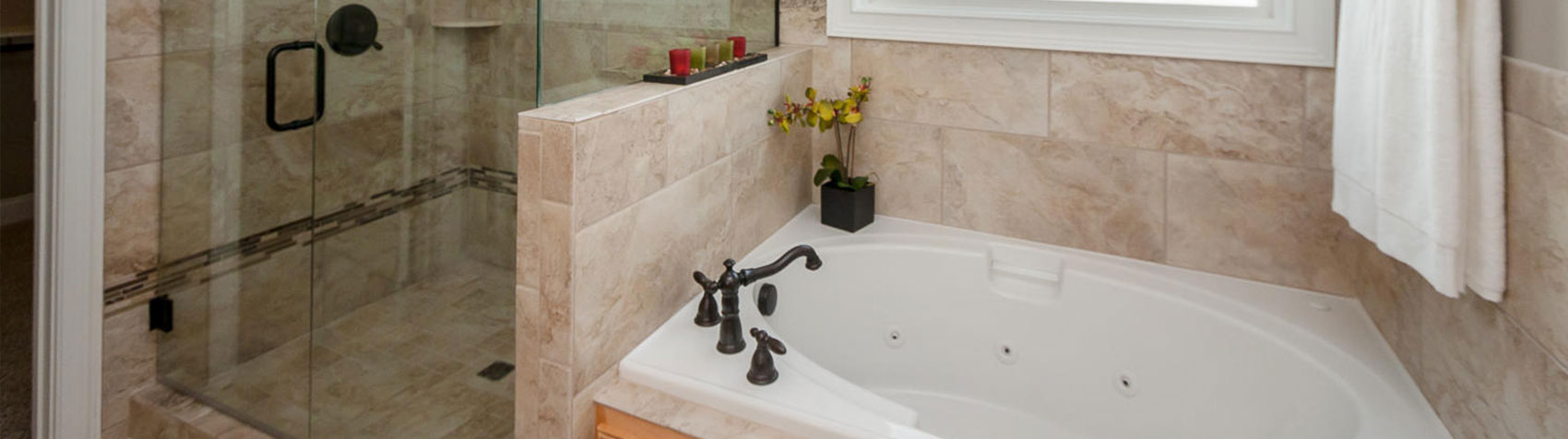 Stallings Ridge Shower and Tub | Stallings Ridge