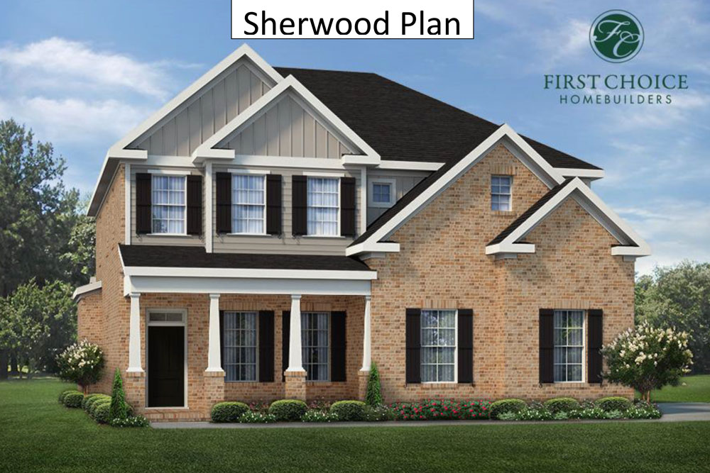 Sherwood II Render | Stallings Ridge
